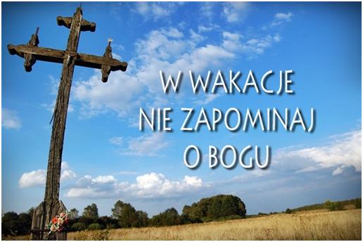 Znalezione obrazy dla zapytania Wakacje z Bogiem